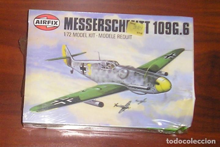 MAQUETA AVIÓN MESSERSCHMITT BF 109G-6 1/72 AIRFIX (Juguetes - Modelismo y Radiocontrol - Maquetas - Militar)
