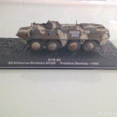 Maquetas: 1/72,TANQUE, BTR-80, BLINDADO, CARRO DE COMBATE,98 AIRBONE DIVISION KFOR,PRISTINA,SERBIA 1999 ALTAYA. Lote 107445971