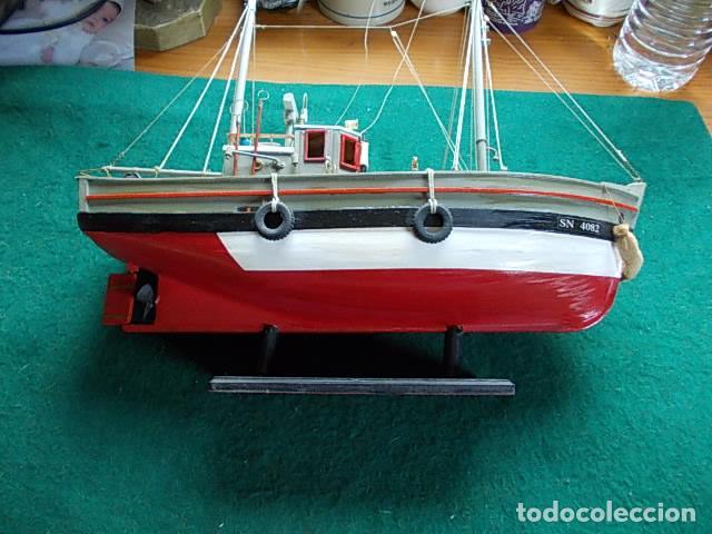 Maquetas: Barco de pesca de 38 cm - Foto 2 - 107646683