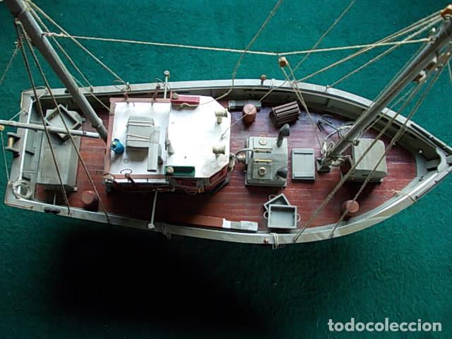 Maquetas: Barco de pesca de 38 cm - Foto 6 - 107646683