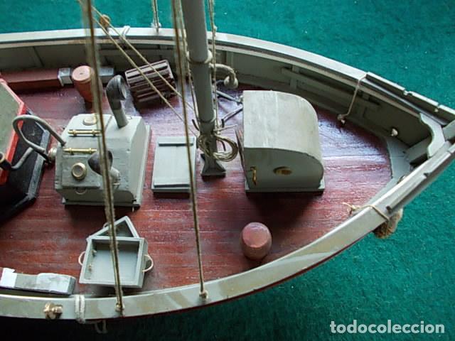 Maquetas: Barco de pesca de 38 cm - Foto 11 - 107646683