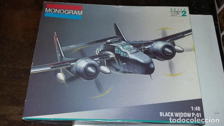Maquetas: Northrop P 61 Black Widow. Monogram 1/48 - Foto 1 - 108365051