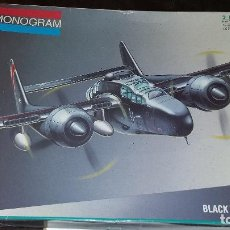 Maquetas: NORTHROP P 61 BLACK WIDOW. MONOGRAM 1/48. Lote 108365051