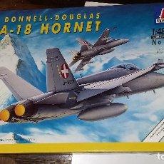 Maquetas: MCDONNELL DOUGLAS F/A 18 HORNET. ITALERI 1/48. Lote 108721051