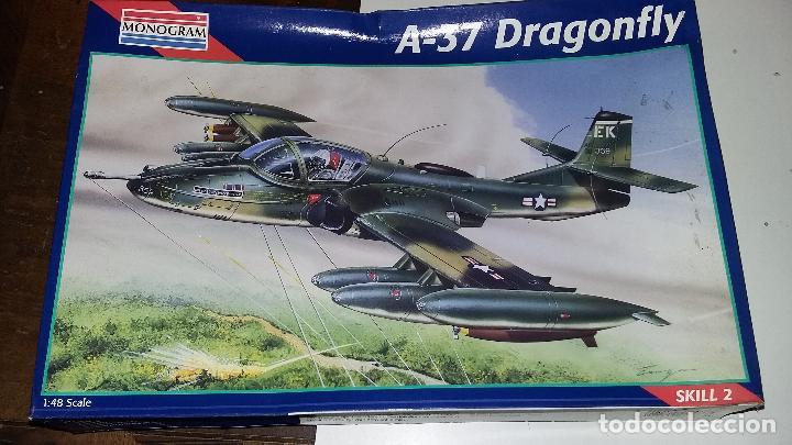 A 37 DRAGONFLY. MONOGRAM 1/48 (Juguetes - Modelismo y Radio Control - Maquetas - Aviones y Helicópteros)