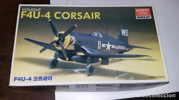VOUGHT F4U 4 CORSAIR. ACADEMY 1/48 (Juguetes - Modelismo y Radio Control - Maquetas - Aviones y Helicópteros)