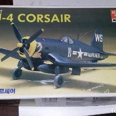 Maquetas: VOUGHT F4U 4 CORSAIR. ACADEMY 1/48. Lote 108892159