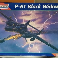 Maquetas: P 61 BLACK WIDOW RADAR, MONOGRAM 1/48. Lote 108892323