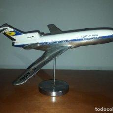 Maquetas: AVION BOING 727 COMPAÑIA LUFTHANSA. MAQUETA MECATER.. Lote 109430815
