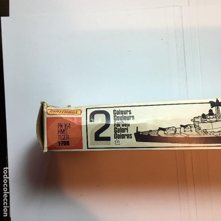 Maquetas: MAQUETA DE BARCO HMS TIGER PK-164 DE MATCHBOX 1/700 - Foto 2 - 110049439