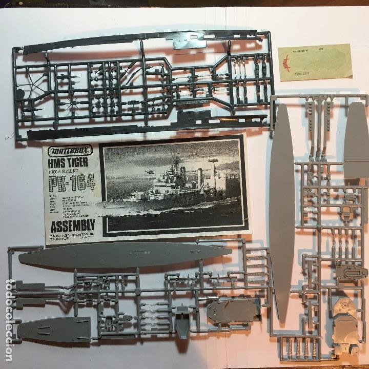 Maquetas: MAQUETA DE BARCO HMS TIGER PK-164 DE MATCHBOX 1/700 - Foto 3 - 110049439