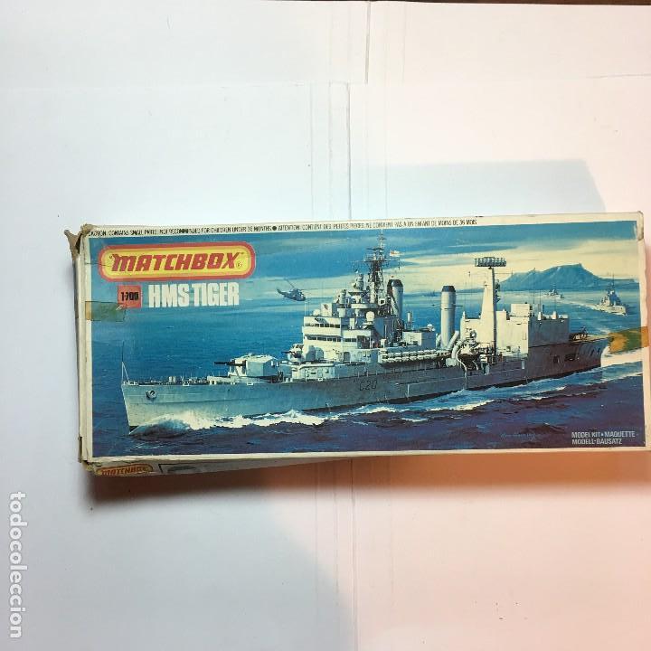 MAQUETA DE BARCO HMS TIGER PK-164 DE MATCHBOX 1/700 (Juguetes - Modelismo y Radiocontrol - Maquetas - Barcos)