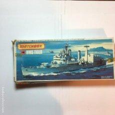 Maquettes: MAQUETA DE BARCO HMS TIGER PK-164 DE MATCHBOX 1/700. Lote 110049439