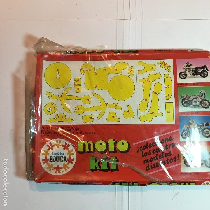 Maquetas: MOTO-KIT KAWASAKI DE EDUCA - Foto 2 - 110054239