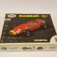 Maquetas: MASERATI 250 F 1957 REVIVAL ITALY ESCALA 1/20. KIT EN METAL. Lote 110071079