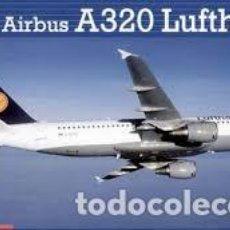 Maquetas: REVELL - AIRBUS A 320 LUFTHANSA 04267 1/144. Lote 110151187