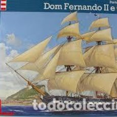 Maquetas: REVELL - PORTUGUESE FRIGATE DON FERNANDO II E GLORIA 05413 1/200. Lote 110157115