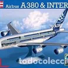 Macchiette: REVELL - AIRBUS A380 & INTERIOR 04259 1/144. Lote 110157395