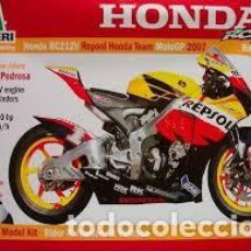 Maquetas: ITALERI - HONDA RC212 V REPSOL HONDA TEAM MOTO GP 2007 4634 1/9. Lote 158670480
