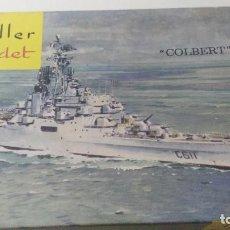 Maquetas: ANTIGUA MAQUETA DE HELLER COLBERT. Lote 110185359