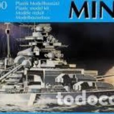Maquetas: REVELL - MINISHIPS BISMARCK 06805 1/1200. Lote 110199175