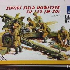 Maquetas: SOVIET FIELD HOWITZER SU 122. ITALERI 1/35. Lote 110209355