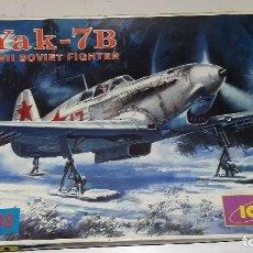 Maquetas: YAK 7B SOVIET FIGHTER. ICM 1/48. Lote 110209403