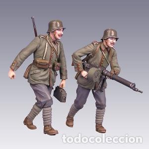 Maquetas: German Soldiers WWI ( Two figures ) 1:35 MASTERCLUB 35102 maqueta figura diorama Primera Guerra - Foto 4 - 110436362
