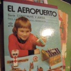 Maquetas: CONSTRUYE Y JUEGA EDAF - EL AEROPUERTO - 1982 - STOCK TIENDA SIN USAR - IMPECABLE ESTADO !!!. Lote 110462835