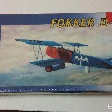Maquetas: FOKKER D VII. SMER 1/48. Lote 110465107