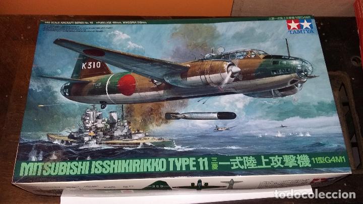 MITSUBISHI ISSHIKIRIKKO TYPE 11 G4M. TAMIYA 1/72 (Juguetes - Modelismo y Radio Control - Maquetas - Aviones y Helicópteros)