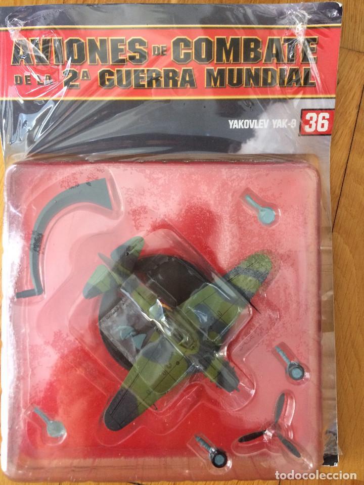 ALTAYA: AVIONES DE LA 2ª GUERRA MUNDIAL Nº 36: YAKOVLEV YAK-9 (Juguetes - Modelismo y Radio Control - Maquetas - Aviones y Helicópteros)
