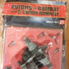Maquetas: ALTAYA: AVIONES DE LA 2ª GUERRA MUNDIAL Nº 21: YAKOVLEV YAK-3 (1/72). Lote 110711055