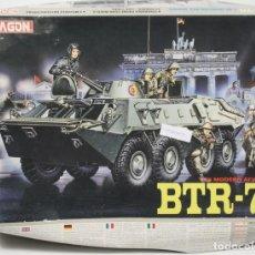 Maquetas: MAQUETA VEHÍCULO BTR-70, REF. 3510, 1/35, DRAGÓN, INCOMPLETO.. Lote 110719795
