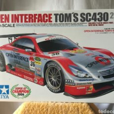 Maquetas: MAQUETA TAMIYA OPEL INTERFACE TOM'S SC430 (2006) 1:24. Lote 110753612