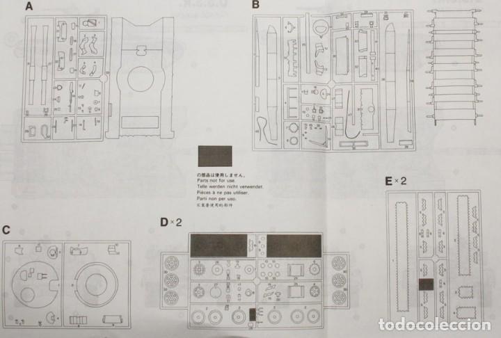 Maquetas: Maqueta carro T-72, ref. 251, 1/35, Dragón - Italeri, incompleto. - Foto 3 - 155416776