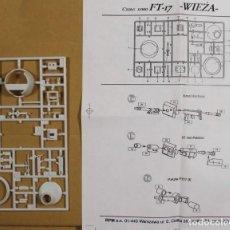 Maquettes: MAQUETA ACCESORIOS, TORRETA CARRO FT-17, 1/35, RPM (SIN CAJA). Lote 110818131