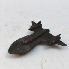 Maquetas: SR-71 BLACKBIRD, PEQUEÑA MAQUETA DE METAL 1960-70. Lote 110831795