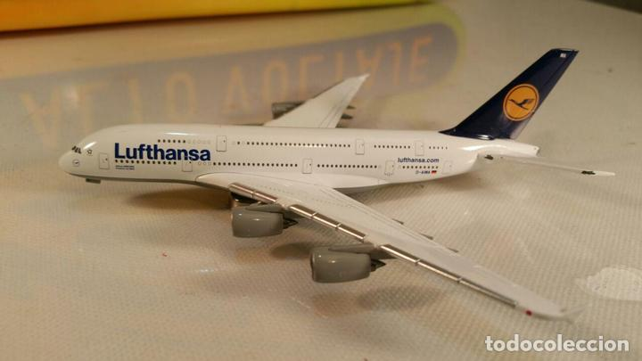 Maquetas: AVION AIRBUS A380 LUFTHANSA MODELL (Herpa Wings) METAL - Foto 1 - 111271859
