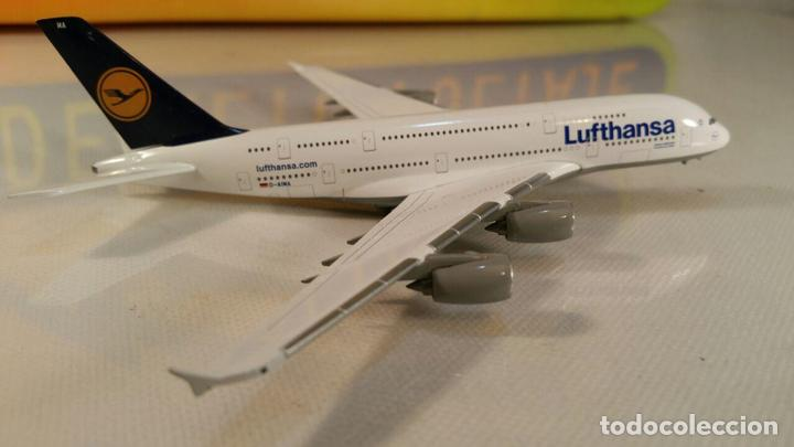 Maquetas: AVION AIRBUS A380 LUFTHANSA MODELL (Herpa Wings) METAL - Foto 2 - 111271859