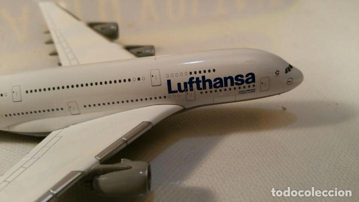 Maquetas: AVION AIRBUS A380 LUFTHANSA MODELL (Herpa Wings) METAL - Foto 7 - 111271859