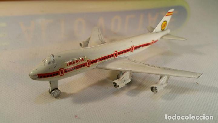 IBERIA BOEING 747 JUMBO PLAYME REFERENCIA - 115 - METAL ESCALA 1:50 ...OTRO DE REGALO (Juguetes - Modelismo y Radio Control - Maquetas - Aviones y Helicópteros)