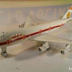 Maquetas: IBERIA BOEING 747 JUMBO PLAYME REFERENCIA - 115 - METAL ESCALA 1:50 ...OTRO DE REGALO. Lote 111274883