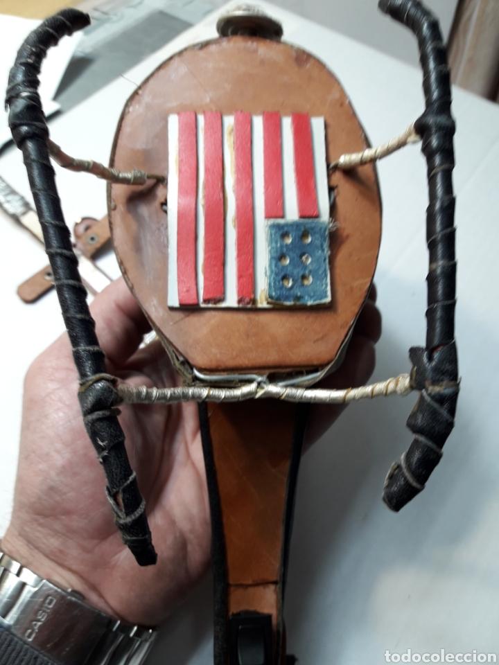Maquetas: Helicóptero de combate hecho en cuero artesanalmente - Foto 5 - 111357162