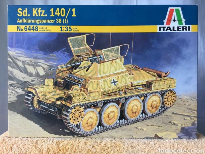 MAQUETA ITALERI SD. KFZ 140/1 AUFKLÄRUNGSPANZER 38(T) 1:35 (Juguetes - Modelismo y Radiocontrol - Maquetas - Militar)