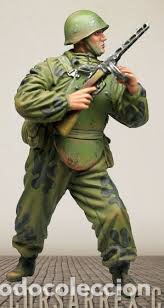 Maquetas: Soviet Soldier Elite Assault troops 1:35 CORSAR REX CR-35031 maqueta figura diorama - Foto 4 - 111461656