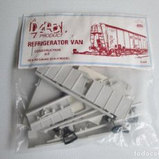 Maquetas: DAPOL PRODUCT REFRIGERATOR VAN CONSTRUCTION KIT.. Lote 111520631
