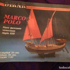 Maquetas: DIKAR - NAVE MERCANTE VENECIANA SIGLO XIII.. Lote 111583931