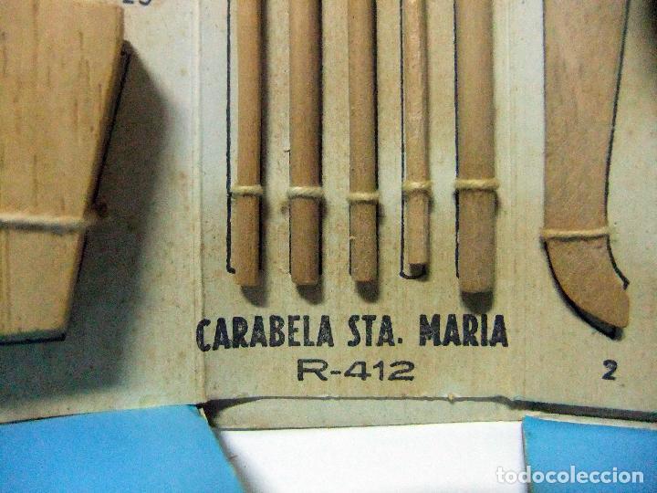 Maquetas: CARABELA SANTA MARÍA - CONSTRUCTO R-412 MARITIME SERIES - MAQUETA BARCO MADERA MENORCA SAN LUIS - Foto 12 - 111897311