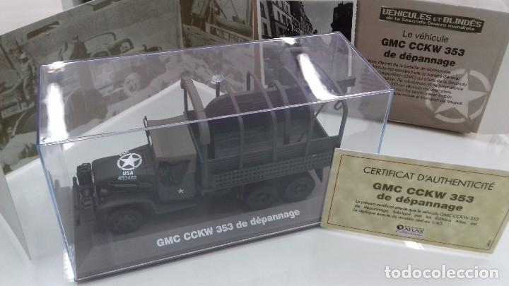 CAMION MILITAR GMC CCKW 353 II ED. ATLAS GUERRA MUNDIAL 1/43 EN CAJA NUEVO (Juguetes - Modelismo y Radiocontrol - Maquetas - Militar)